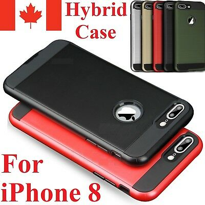 For iPhone 8 Case Ultra Hybrid Protective ShockProof Hard Back Cover