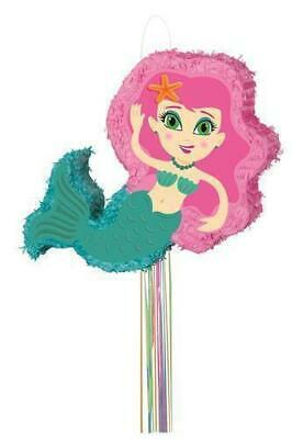 Mermaid Pull Pinata Pk 1