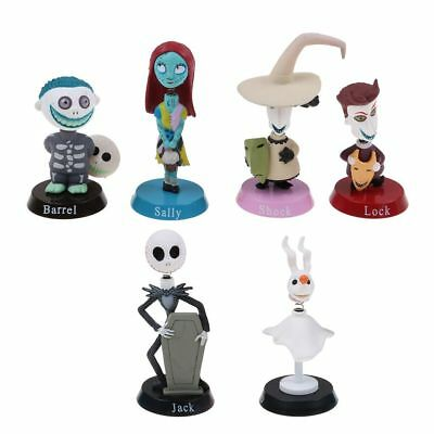 Nightmare Before Christmas Jack and Zero Figure Lovely Gift For Car Decor UK