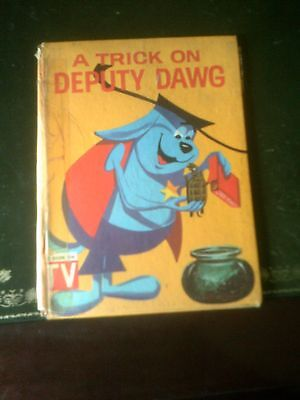 A Trick on Deputy Dawg Childrens Book Published 1966  by Purnell, Vintage Book