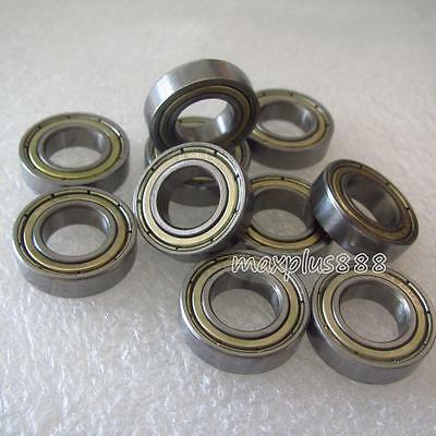 New  5pcs MR104zz Ball Bearing metal sealed 4X10X4mm Miniature Mini Bearing