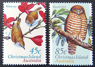 1996 Christmas Island Stamps - Land Birds - Set of 2 MNH