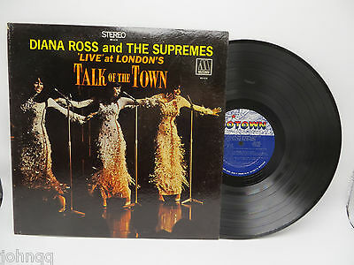 Diana Ross and the Supremes - Talk of the Town - Motown MS 676 LP Record NM 1968