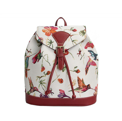 Signare Womens Tapestry Small Flap Buckle Rucksack Backpack