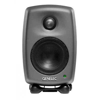 Genelec 8010A Active Studio Monitors - Matt Black (Single)