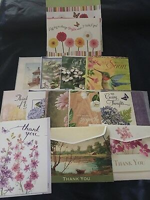Assortment Of Cards Get Well Thank You Thinking Of You Sympathy