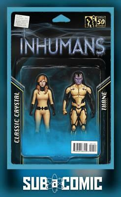 ALL NEW INHUMANS #1 ACTION FIGURE TWO PACK VARIANT (MARVEL 2015 1st Print) COMIC