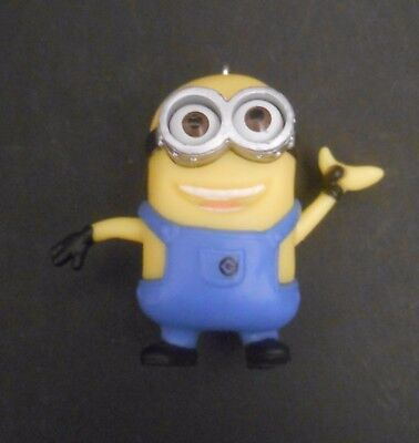 CUSTOM Ornament Made From Despicable Me 2 MINION DAVE Banana Minions Movie 3