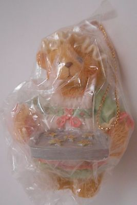 Cherished Teddies Girl Holding Tray of Cookies Christmas Ornament NEW 625426