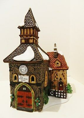 "Dept.56  Dickens Village Series  "" The Olde Camdentown Church ""  ,  #58346"