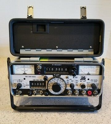 IFR AM/FM 500A Communications Service Monitor  IFR 500A