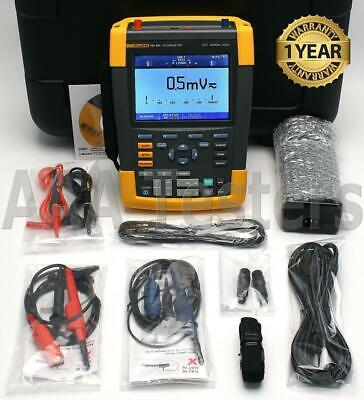 Fluke 190-502 ScopeMeter Series II 5GS/s 2 Channel 500MHz Oscilloscope 190 502