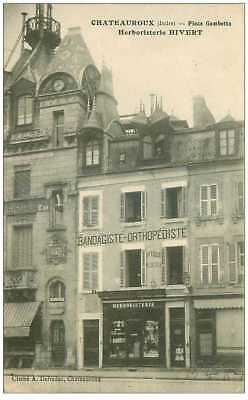 36.chateauroux.n°25581.place Gambetta.herboristerie Hivert.rare