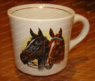 Thoroughbred Horse Racing, Charles Town W. Va (Conrad Crafters, Wheeling) Mug