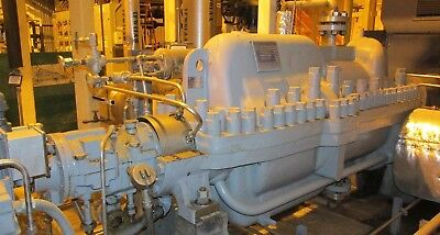 Boiler Feed Pump 3000 HP 9 Stage Byron Jackson Pumps DVMXD 6 x 8 x 12L  2726TH