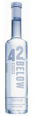 42 Below Pure Vodka 700mL ea - Spirits - Origin New Zealand
