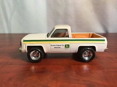 Vintage Ertl Chevy Pickup Truck John Deere Implement Dealer