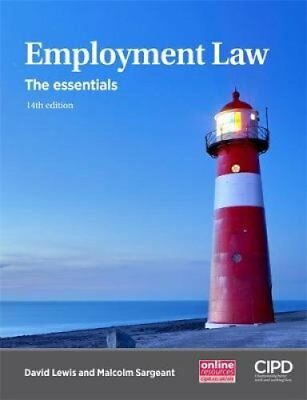Employment Law The Essentials by David Lewis 9781843984382 (Paperback, 2017)