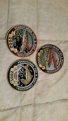 Pa Pennsylvania Game Fish Commission 6 inch patches in New condition