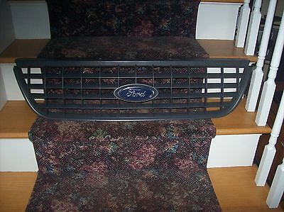 Ford Grill Excellent Condition with FORD Emblem. Dark Grey.
