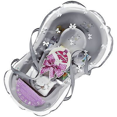 Maltex Zebra Grey Baby Bath Tub Gift Set - 84cm. From the Argos Shop on ebay