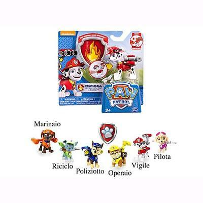 Spin Master Paw Patrol Transforming Action Pack + Badge Personaggio a scelta