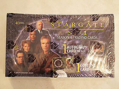Stargate SG-1 Season 4 Rittenhouse Archives - 2002 Card Box