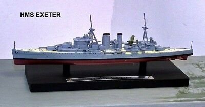 Atlas Editions 1:1250 Scale - Ref.no. Gm114 Hms Exeter Royal Navy