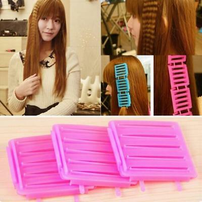 Hair Clip Wave Hairdressing Random Color 1 Set 3pcs Tool Rod Curler Corn Perm
