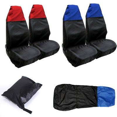 Front Rear Waterproof Nylon Car Seat Cover Protectors Seat Covers