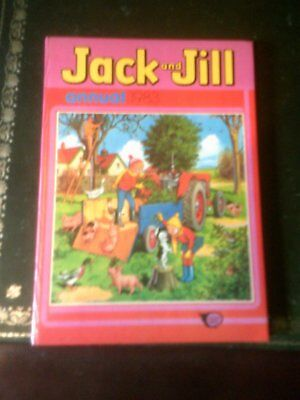 JACK  AND JILL ANNUAL 1983, Published 1982,Children's Annual, Vintage Book