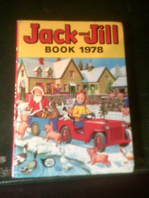 JACK  AND JILL ANNUAL 1978, Published 1977,Children's Annual, Vintage Book
