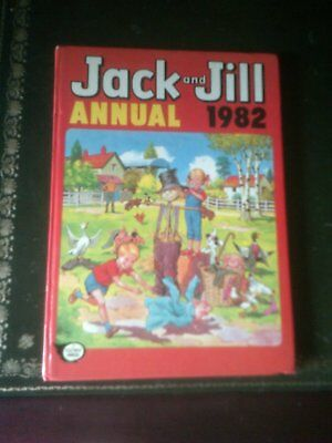 JACK  AND JILL ANNUAL 1982, Published 1981,Children's Annual, Vintage Book