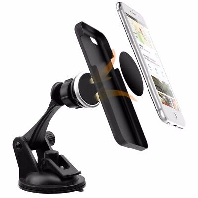 360° Car Magnetic Windshield Dashboard Mount Holder Stand for GPS Mobile Phone