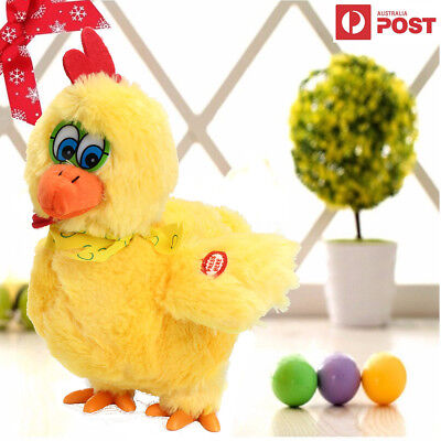 Musical Dancing Laying Egg Chicken Electric Educational Baby Kid Funny Toy Gift