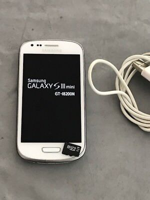 Samsung Galaxy S III Mini I8200 - 8GB - White On T-MOBILE/Virgin Networks