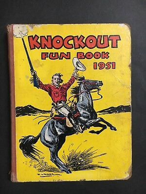 Knockout Fun Book 1951 Annual Type, 191 Pages