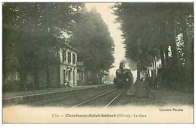 58.chantenay-Saint-Imbert.n°26.la Gare.train