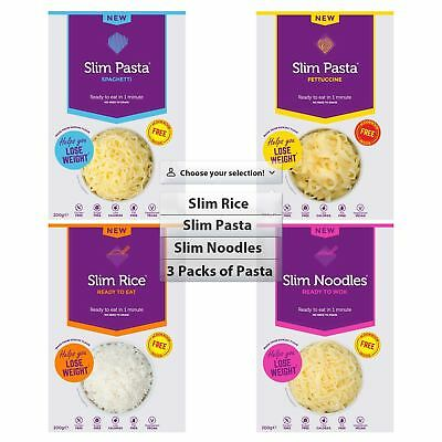 Eat Water Slim Pasta's, Rice & Noodles   Multibuy options available