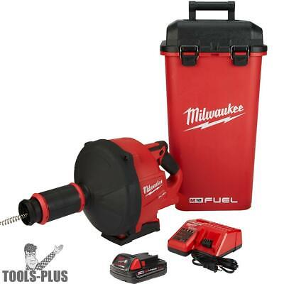 Milwaukee 2772A-21 M18 Fuel Drain Snake with Cable Drive Kit New