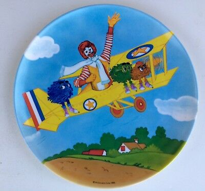 Vintage New McDonald's 1985 Plate 9 1/8 Inch