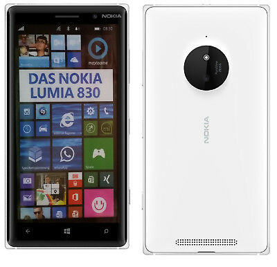 Nokia Lumia 830 in Weiß Handy Dummy Attrappe - Requisit, Deko, Ausstellung