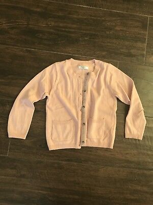 Baby Boden Pink Knit Cardigan In Size 3-4 T