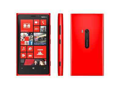 Nokia Lumia 920 in Rot Handy Dummy Attrappe - Requisit, Deko, Ausstellung