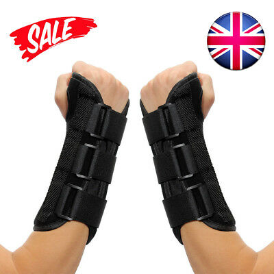 Breathable Hand Wrist Carpel Support Tunnel Splint Brace Protection Strap Relief