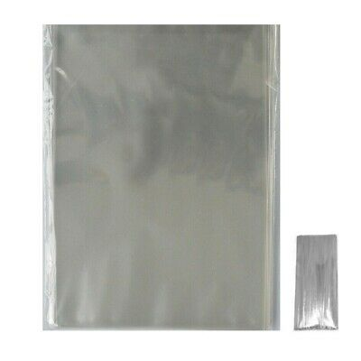 Clear Cellophane - Lollipop Bags -  Display Bags With No Seal / Cookies / Sweets