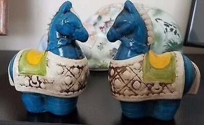 Asian Horse Salt and Pepper Shakers Vintage Norleans Japan REDUCED