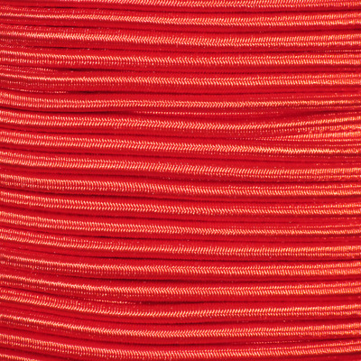 """25ft 1/8"""" Red Bungee Cord Marine Grade Heavy Duty Shock Rope Tie Down Stretch"""