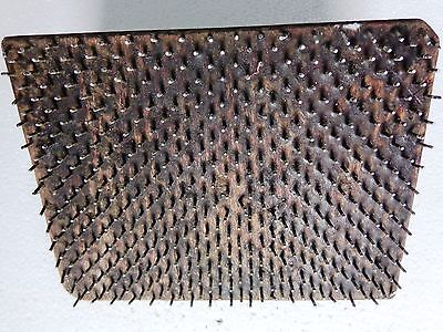 Vintage Brass design Wood Block Stamps fabric Prints tools B19 Aged Early India