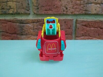 Vintage 1990 McDonald's French Fries Transformer Changeables Collectible Toy Fig
